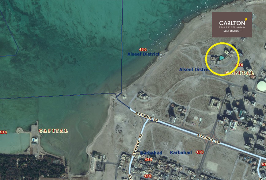 Investment Land in Seef Area W/Sea View!