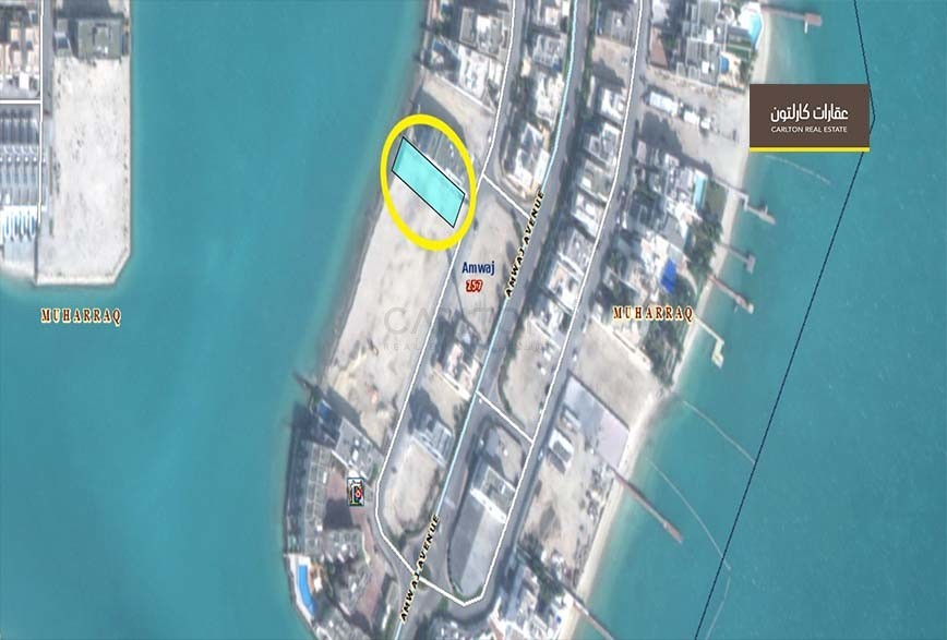 Residential Land-Waterfront area for Sale in Amwaj