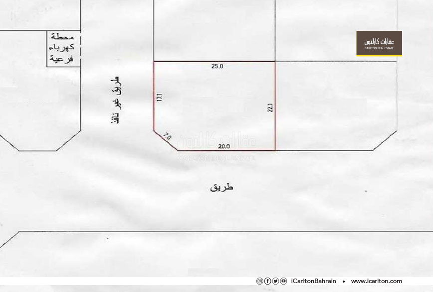 Commercial land (B4) for sale, located in Hidd