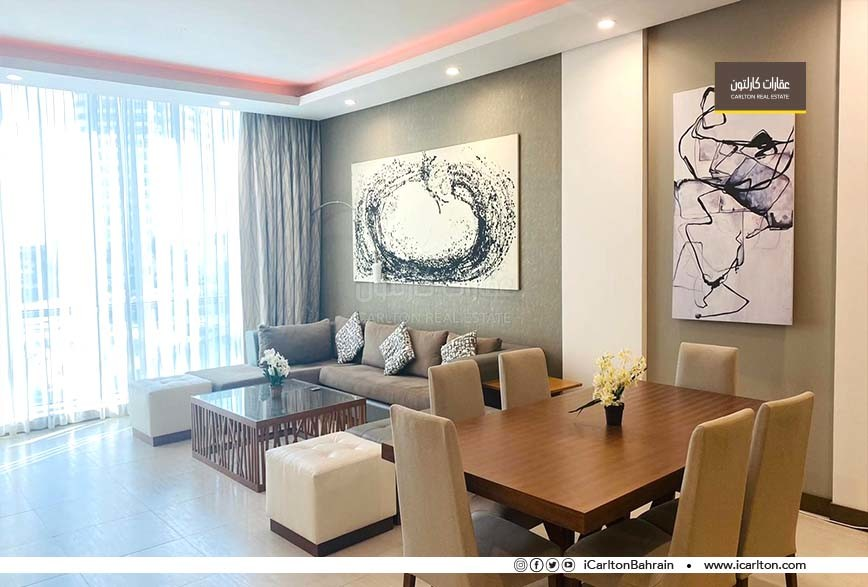 Modern Contemporary Two-Bedroom Flat For Rent