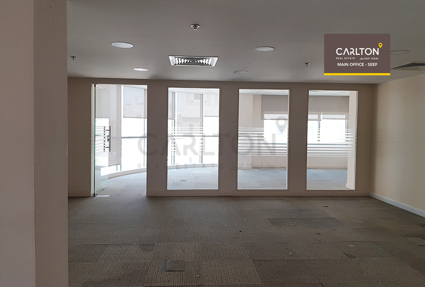 Huge Office in a Prime Location in Seef.