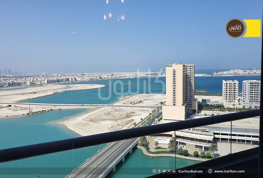 On a High Floor with Sea View & upscaled interior