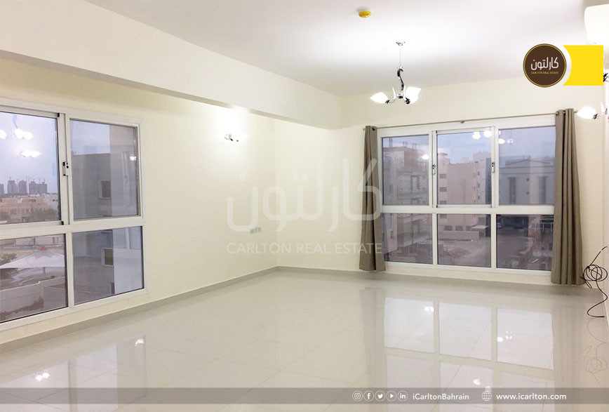Spacious flat 3 BR , with City View ** *
