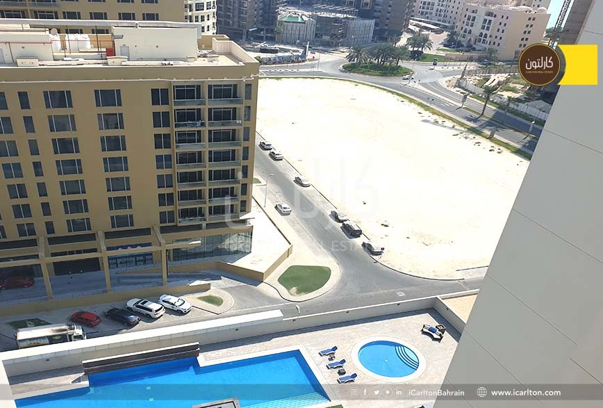High Floor- Furnished Flat with pool View-