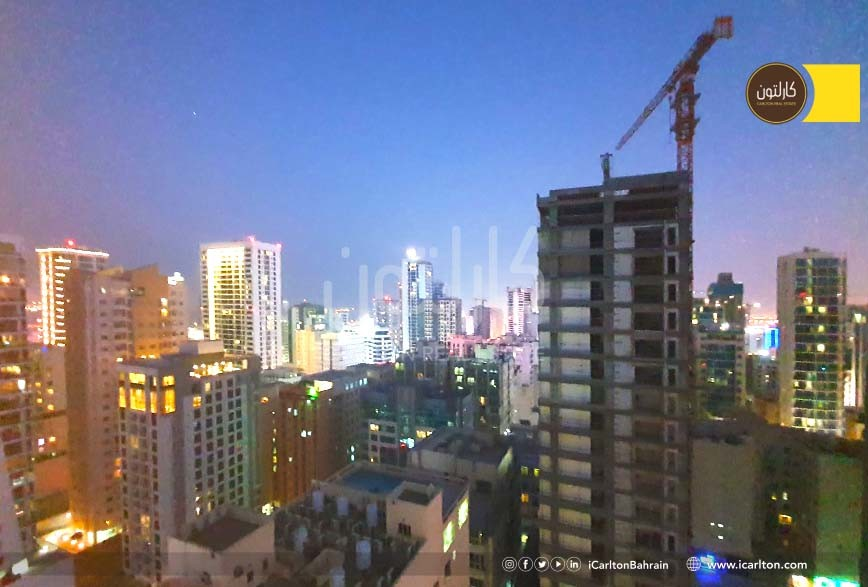 Sea & City View & Furnished with Balcony