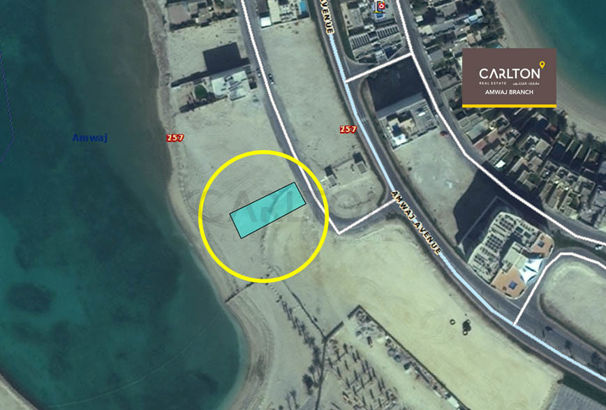 Spacious Beach front plot for the Best Price!