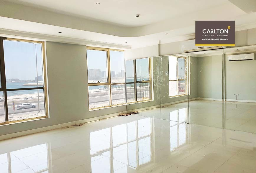 Commercial Flat with spacious interiors