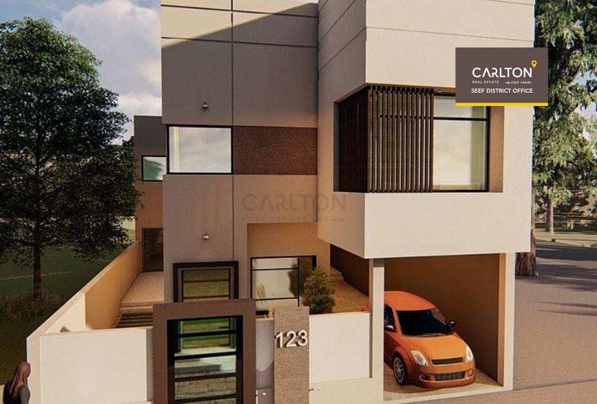 Villa under construction in Saar Area