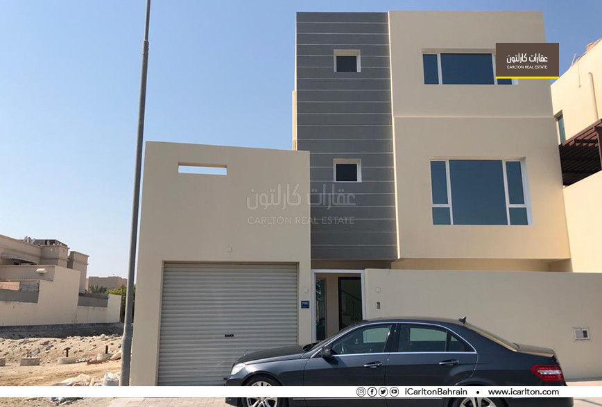 New villa in Sanad fits Mazaya (social housing)