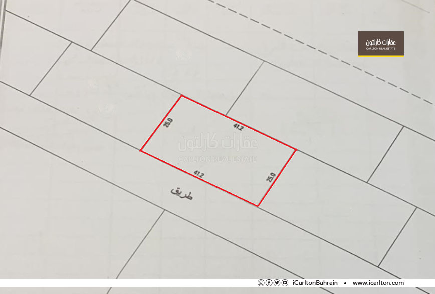 Commercial land, good location in Galali