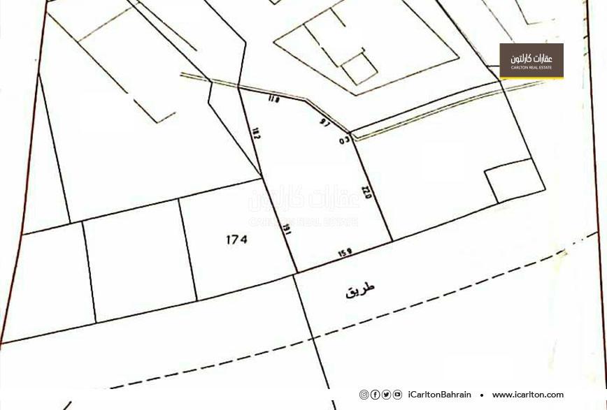 Commercial Residential land for sale in Shakhura