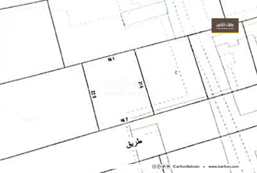 Residential land for sale, located in Hamala area