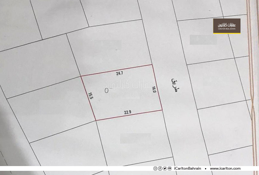 Land for sale in Maqaba in a new quiet area