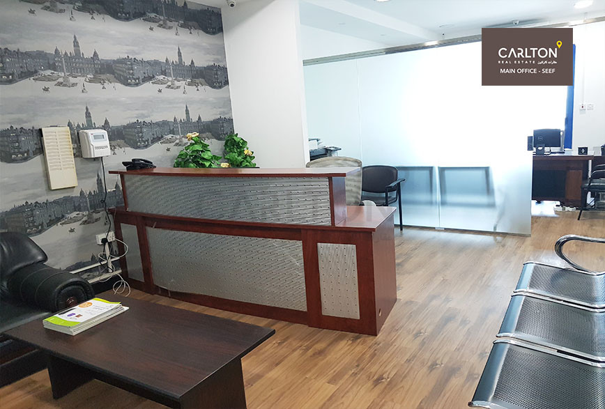 Fitted Office Space with spacious rooms!
