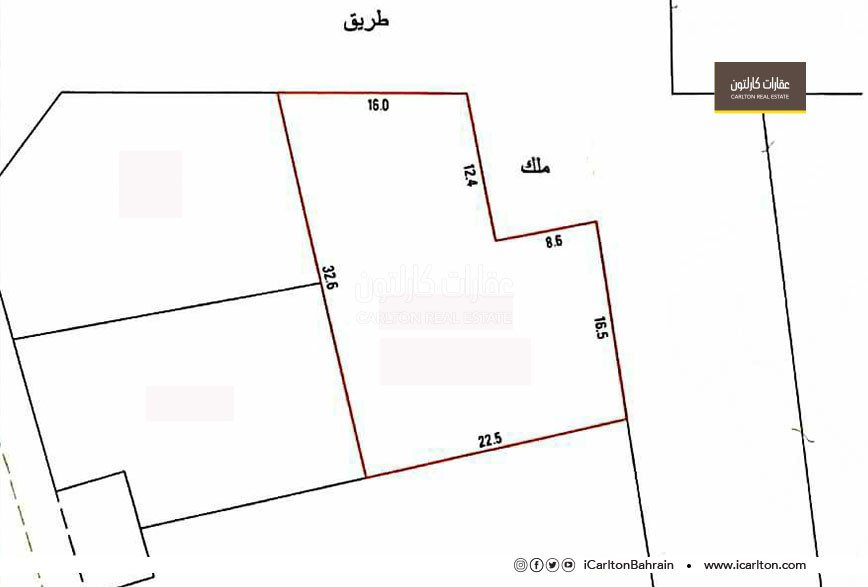 Residential/Investment land located in Hamad Town