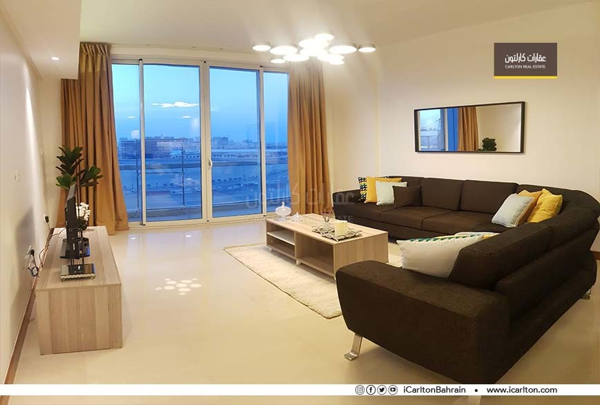 High Floor- Balcony- Community View- Furnished