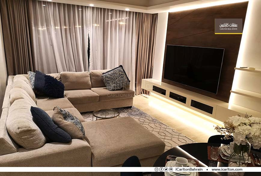 Partial Seaview- Modern & Sophisticated 2BR Flat