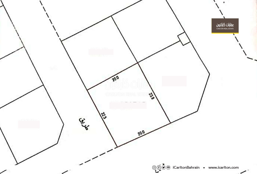 Residential land for sale in Shakhoora area