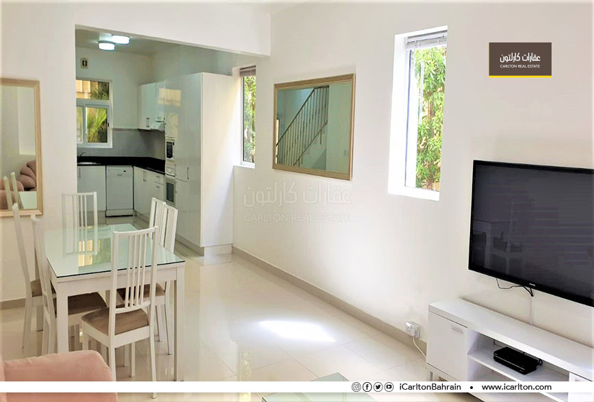 Furnished villa type with big terrace,Inclusive