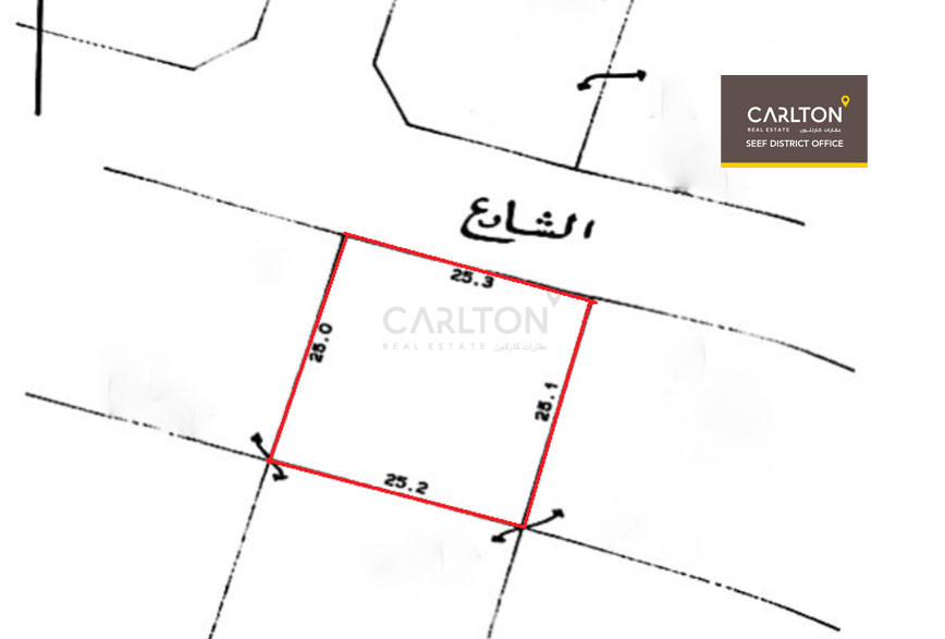 Residential land in prime location