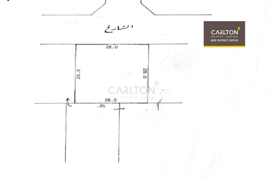 Investment land with paid bldg. fee for 15 Apt.
