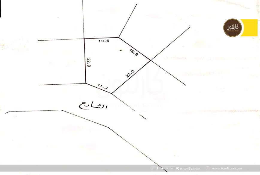 Residential Land for a Villa in Hidd Area