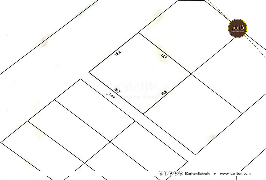 Residential land (RA) located in North Riffa