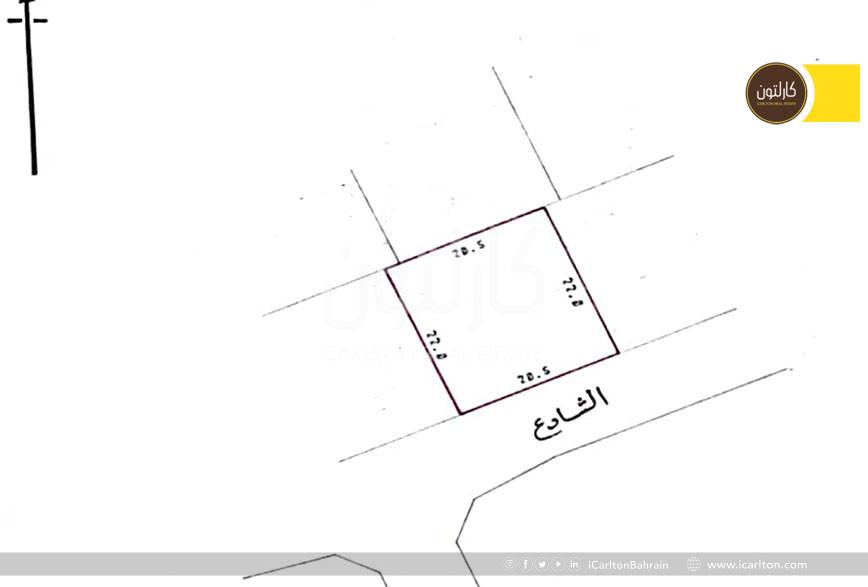 Prime location land, good to build a villa