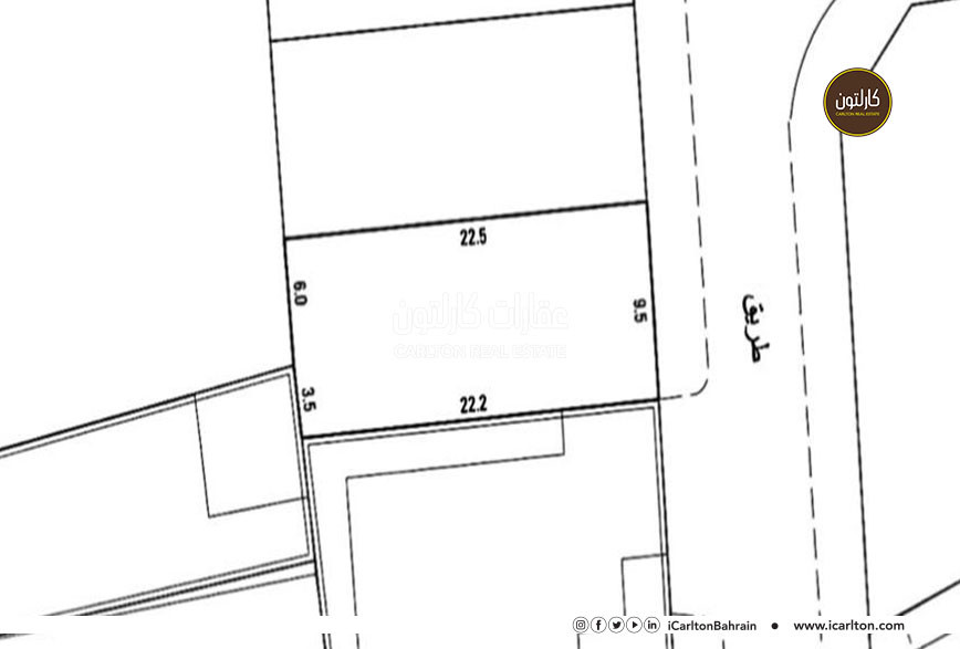Residential land for sale, located in Shahrakan
