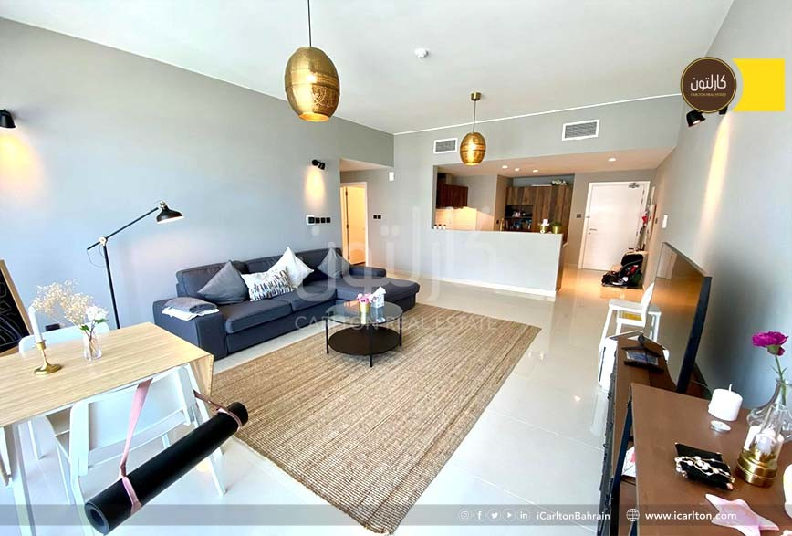 Newly renovated- High Floor- Balcony -Furnished