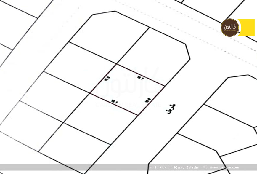 Residential land for building a villa**