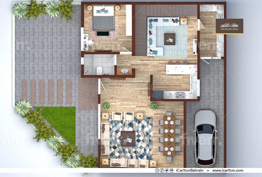 Under construction Villa with Modern Design