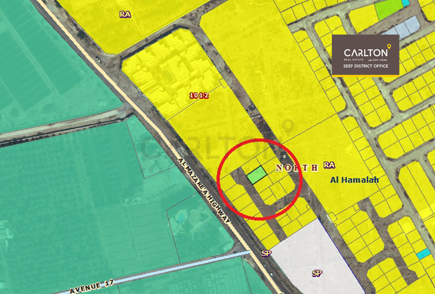 Residential Land for sale in hamala (ِRG)!