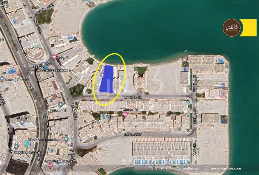 Beach Front Land for Sale in the Urban Island