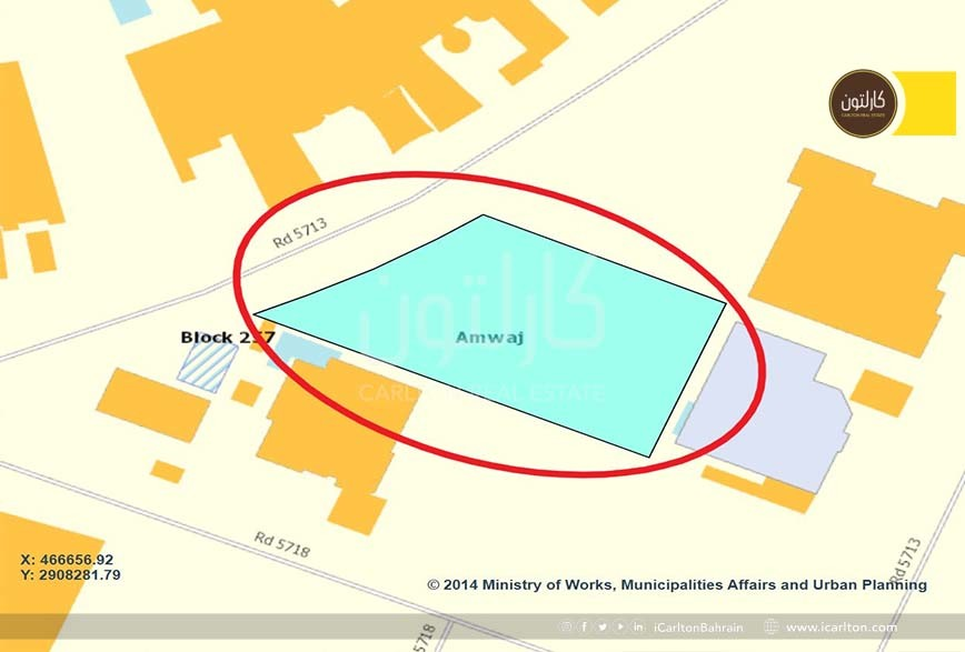 Middle Land for Sale in the Urban Island