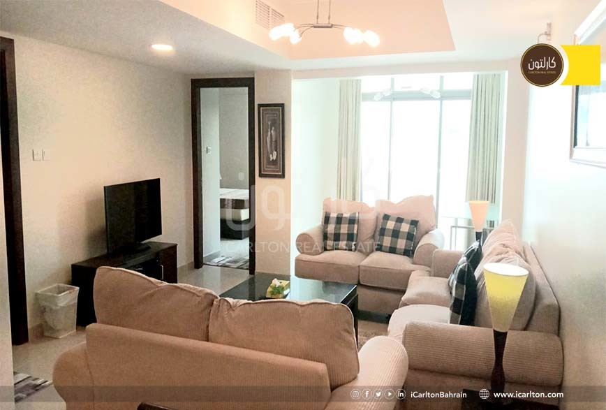 Modern Furnished 2-bedroom-in a Gated Community
