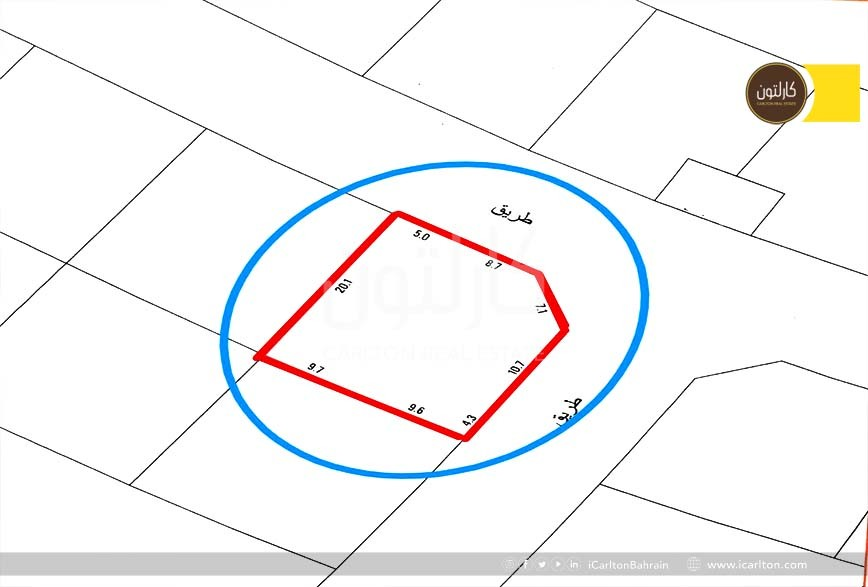 Investment Land for Sale in Blooming Area
